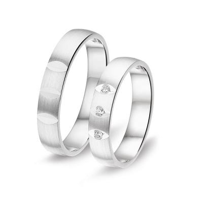 Zilveren Ringen Van 4mm Breed 6b8636
