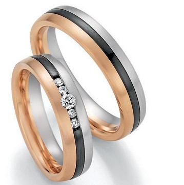 Black & Gold 14/10050-050 585 Gold/Zirconium