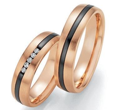 Black & Gold 14/10150-055 585 Gold/Zirconium