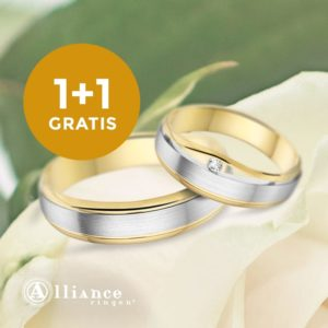 Trouwringen ACTIE tweede ring Gratis!